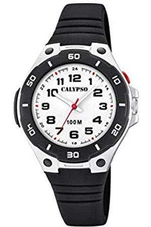 Calypso Unisex Child Analogue Quartz Watch with Plastic Strap K5758/6