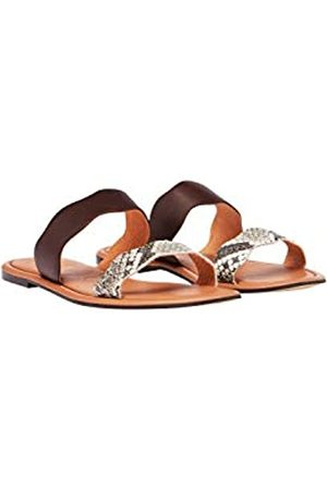 Joules Women's Aimee Open Toe Sandals, (Snake Snake)