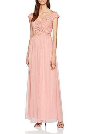 Little Mistress Women's Rose Lace Maxi Party Dress