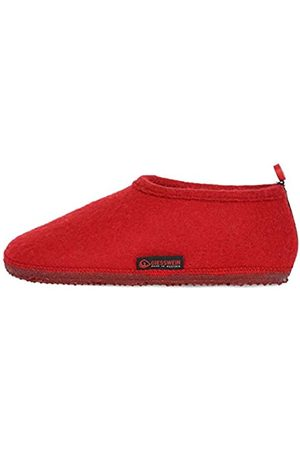 Giesswein Slipper Tambach Cherry 37 - Closed Felt Slippers for Men & Women, Changeable Footbed, Warm Unisex House Shoe, Mules, Comfortable Slippers with Flexible Sole, Non-Slip