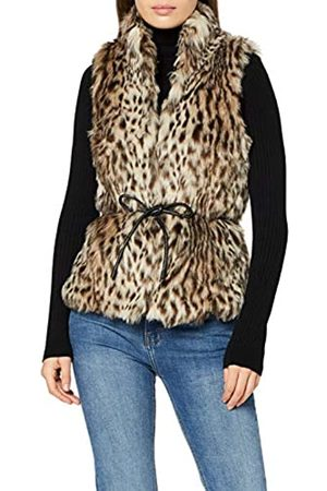 ONLY Women's Onlmiley Faux Fur Waistcoat OTW Outdoor Gilet