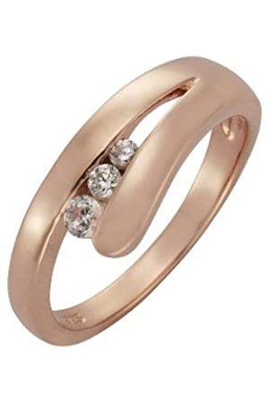 ZEEme 360270094-9-019 Women's Ring - 925/1000 Sterling and Zirconium Oxide - 2.95 g