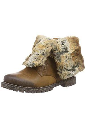 Rieker Kinder Girls' K1579 Combat Boots, (Muskat/Braun / 24)