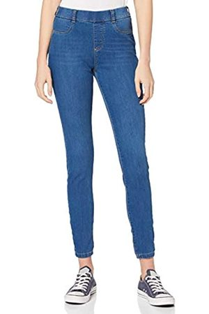 Dorothy Perkins Women's Blue Regular Length Mid Wash Eden Jeggings Jeans
