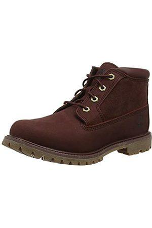 Timberland Women's Nellie Chukka Leather SDE Non-Waterproof Ankle Boots, (Dark Nubuck)