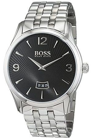 Hugo Boss Commander Mens Quartz Analogue Classic Silver Stainless Steel Bracelet 1513429