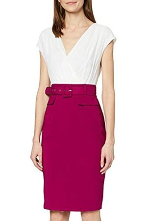 Paper Dolls PaperDolls Women's Two In One Bodycon With Belt Dress