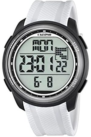 Calypso Unisex Digital Watch with LCD Dial Digital Display and Plastic Strap K5704/5