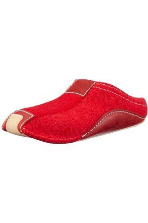 Haflinger Pocahontas, Unisex Adults' Open-Back Slippers, (Ziegelrot 85)