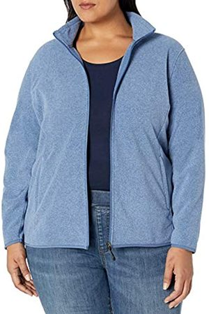 Amazon Essentials Plus Size Full-zip Polar Fleece Jacket Heather
