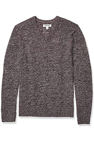 Goodthreads Supersoft Marled V-neck Sweater Burgundy
