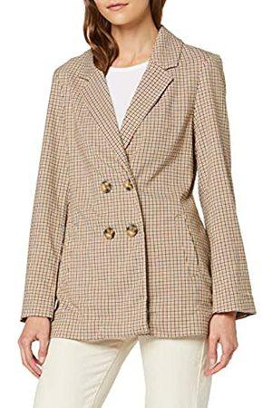 Springfield Women's 4.t.d.Blazer Cuadros Suit JacketMulticolour (Multicolor 56)14 (Manufacturer Size: 42)
