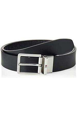Tommy Hilfiger Men's Modern Rev Monogram Leather Belt