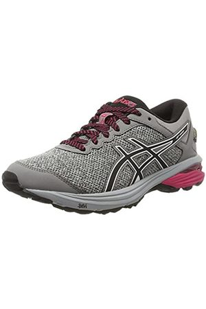 Asics Women's Gt-1000 6 G-Tx Competition Running Shoes, (Mid / /Aluminum 9690)