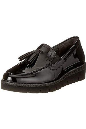 Gabor Shoes Women's Comfort Sport Derbys, (Schwarz (Glitzer) 97)