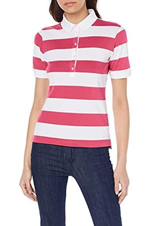 Brax Women's Cleo Finest Piqué Stretch Stripes Poloshirt Gestreift Polo Shirt