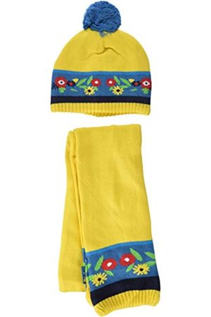 Tuc Tuc Girl's Tricot Folk Scarf, Hat & Glove Set