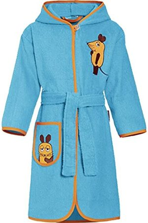 Playshoes Girl's Terry Towelling The Mouse Bathrobe