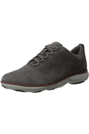 Geox Men U Nebula C Low-Top Sneakers, (Anthracite)