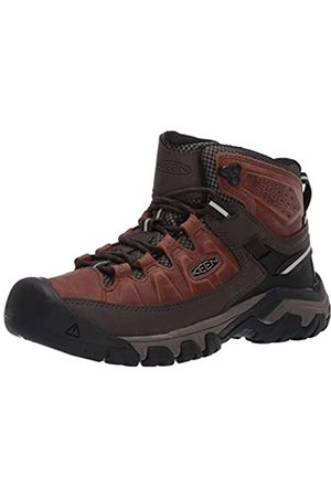 KEEN Men's Targhee III MID WP Hiking Boot, Chestnut/Mulch