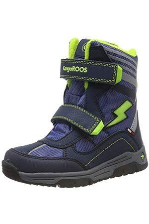 KangaROOS Unisex Kids' Snow Flash Boys SL Boots, (Dk Navy/Lime 4054)
