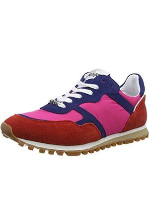 Liu Jo Women's Alexa-Running Low-Top Sneakers, (Rouge/Cobalt/Fuxia S17b3)