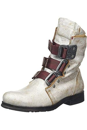 Fly London Women's STIF Biker Boots, (Pearl 028)