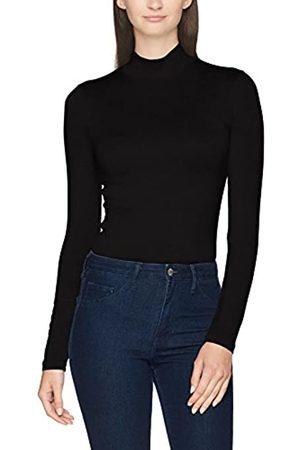 Selected Women's Sfmio Ls Highneck-Noos Roll Collar Sweater
