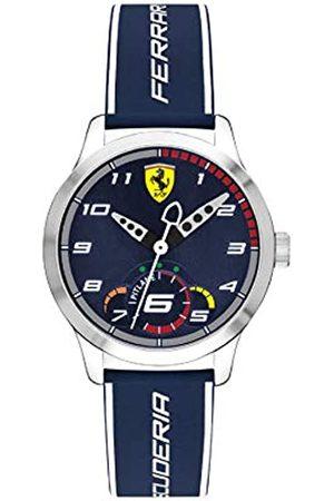 Scuderia Ferrari Unisex Child Analogue Classic Quartz Watch with Silicone Strap 0860005