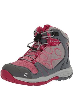 Jack Wolfskin Girls' Grivla Texapore Mid G Wasserdicht High Rise Hiking Shoes, (Azalea 2081)