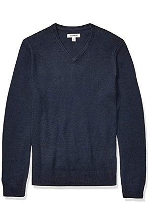 Goodthreads Supersoft Marled V-neck Sweater Navy