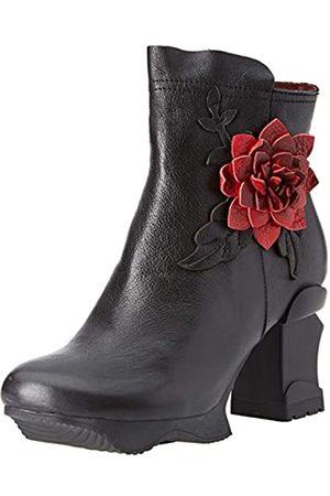 LAURA VITA Women's Arcmanceo 10 Ankle Boots, (Noir Noir)