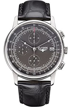 ELYSEE Unisex Adult Analogue Quartz Watch with Leather Strap 11011