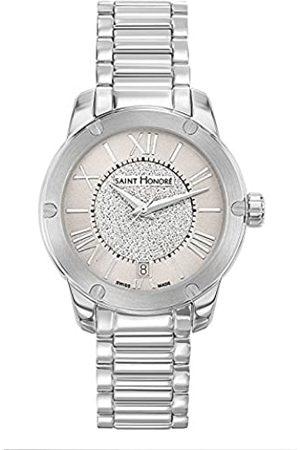 Saint Honoré Women's Analogue Quartz Watch with Stainless Steel Strap 7511301LGPAN