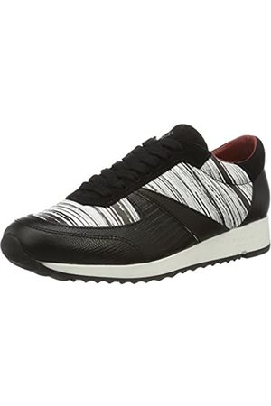 Liebeskind Berlin LF173100 bmono, Women's Low-Top Sneakers, Multi-Colored (ivory /Schwarz)