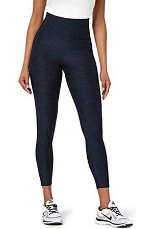AURIQUE Amazon Brand - Women's High Waisted Sports Leggings, 12