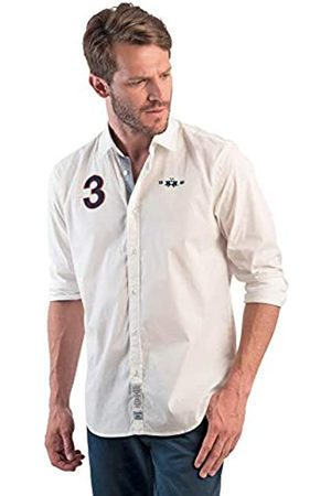 La Martina Men's Man Polo L/s Jersey Interlock Shirt