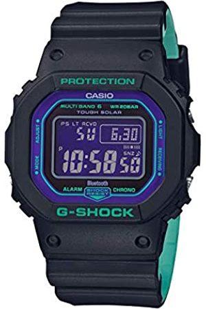Casio Unisex_Adult Digital Quartz Watch with Rubber Strap GW-B5600BL-1ER