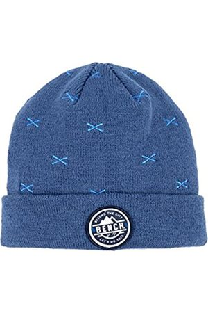 Bench Boy's Turn Up Embroidered Beanie Hat