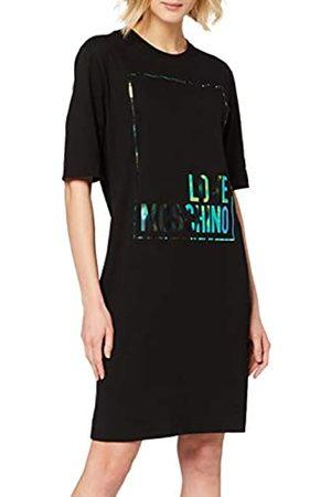 Love Moschino Women's Dress_Iridescent Logo Box Print