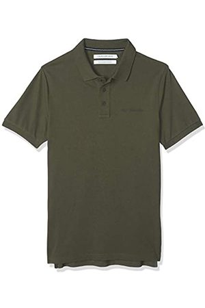 Calvin Klein Men's Stretch INSTITUTIONAL Polo Slim Shirt