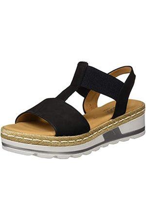 Gabor Women's Comfort Sport Ankle-Strap Wide Fit, (Nightblue (Jute) 46)