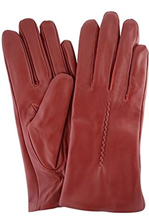 """Snugrugs Womens Butter Soft Premium Leather Glove with Woven Stich Design & Warm Fleece Linning - - X-Large (8"""")"""