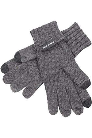 Urban Classics Men's Knit Gloves (Darkgrey Melange 01417)