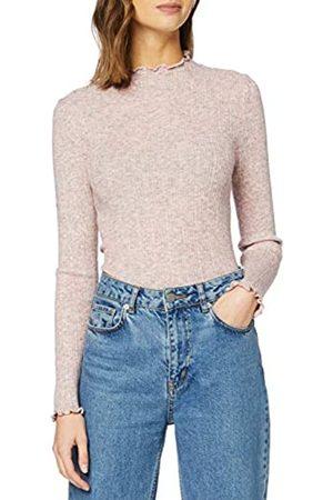 New Look Women's OP19 FG MARL LETTUCE EDGE STAN Sweater