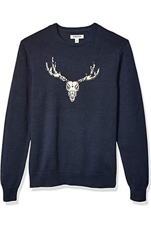 Goodthreads Soft Cotton Graphic Crewneck Sweater Skull