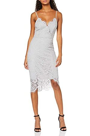 New Look Women's GO OCC LACE WRP ASYM MIDI Dress