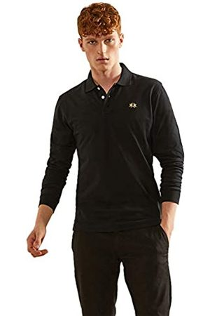 La Martina Men's Man Polo L/s Piquet Stretch Shirt