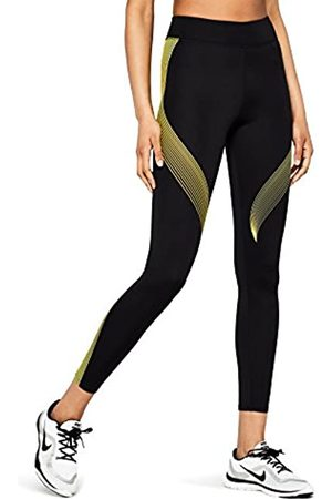AURIQUE Amazon Brand - Women's Printed Sports Leggings, 18