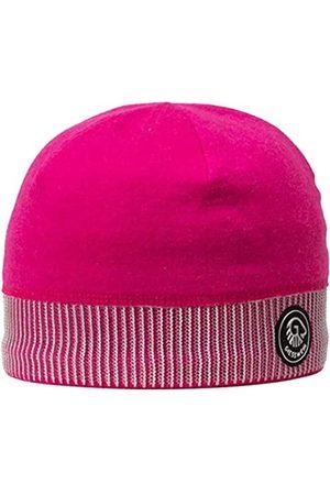 GIESSWEIN Sports Beanie Kugelhorn cyclam ONE - 100% Merino Wool Cap, Sports Cap for Men & Women, Warm Fleece Lining Inside